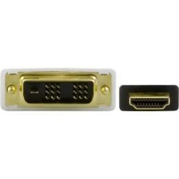 HDMI han til mikro-han kabel, sort