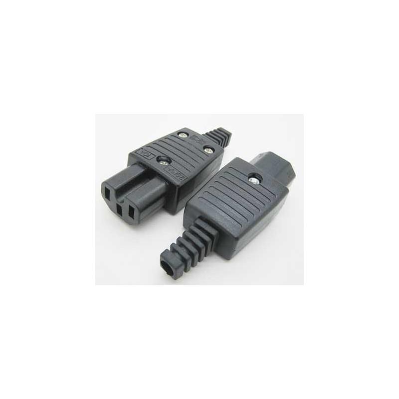 Apparatstik C15/C13 sort