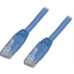 Blå netværkskabler