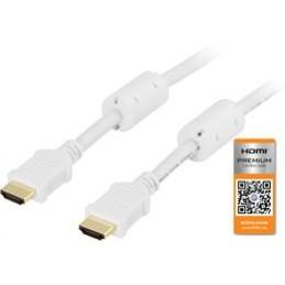 HDMI 1.4 kabel, han-han, sort, lavpris.