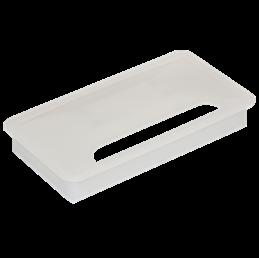 Bordgennemføring til keystone moduler, Sort