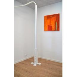 Installationssøjle - 4 sidet - hvid