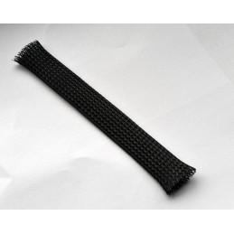 Fletstrømpe 26mm sort / pr. meter