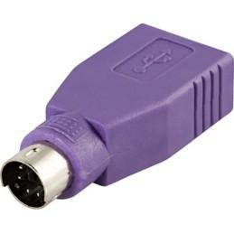 USB til PS/2-adapter til...