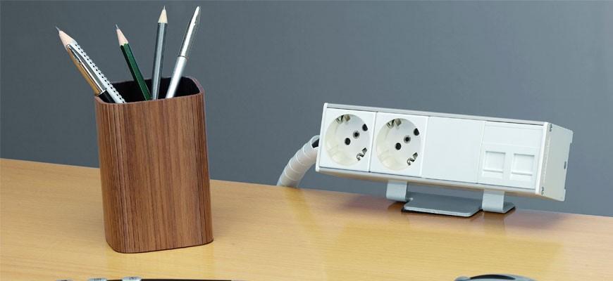 Funktionelle løsninger til dit skrivebord